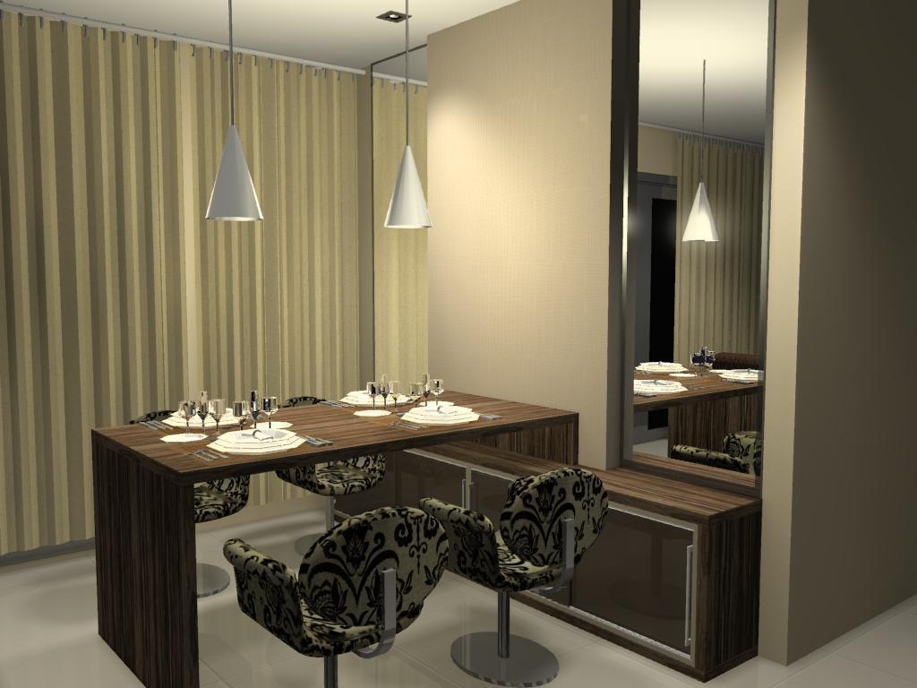 #9C802F Sala de jantar Paulo Lima Designer 1024x768 px Projetos De Cozinhas Conjugadas Com Sala De Jantar_5647 Imagens